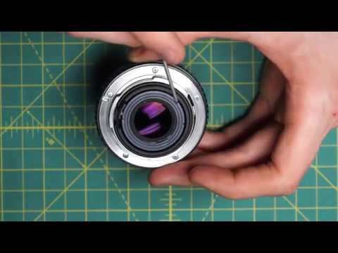 SMC Pentax-M 50mm f2 Lens Disassembly