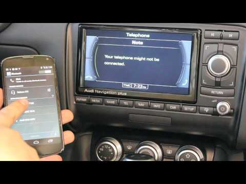 Audi North Scottsdale- Pairing your Android device with an Audi TT, R8 or A3!