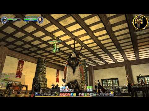 LOTRO - Swimming on the Ceiling Glitch