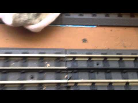 How To Clean O Scale Train Track