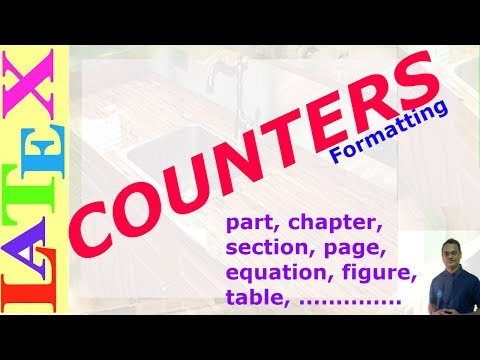 Counter in LaTeX (LaTeX: Tips/Solution-30)