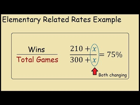 How to calculate number required to achieve a target percentage