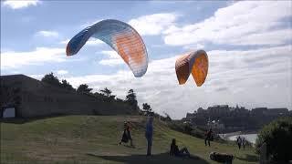 Epic Paragliding Takeoff Compilation =) - PakVim net HD