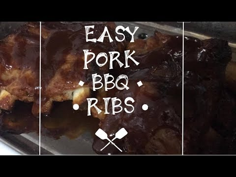 VERY EASY, EXTRA TENDER PORK BBQ BABY BACK RIBS