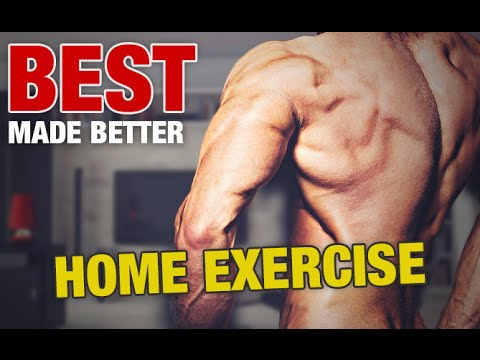 The Best Home Back Exercise Ever! (MADE BETTER)