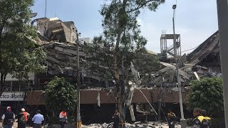 Caught on Camera: Powerful 7.1 Earthquake Strikes Mexico City, Severely Damaging Buildings