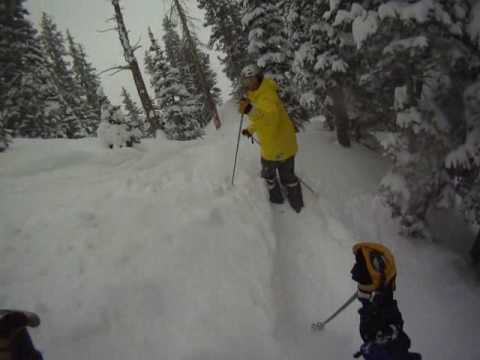 Powder Day in the Wasatch