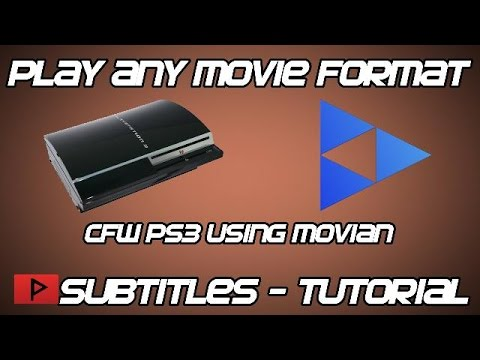 [How To] Play Any Movie File With Subtitles On CFW PS3 Using Movian