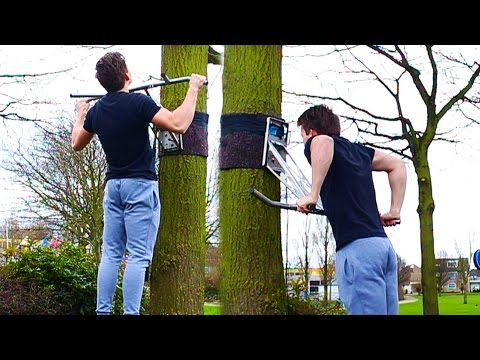 Portable Pullup & Dip BAR! (20 BEST EXERCISES)