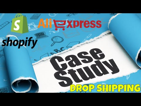 Shopify Ali Express Drop Shipping Case Study | Selling Sunglasses | How Much Did It Make?