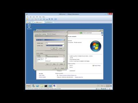 Server 2008 chapter 3-10 config environment and system variables