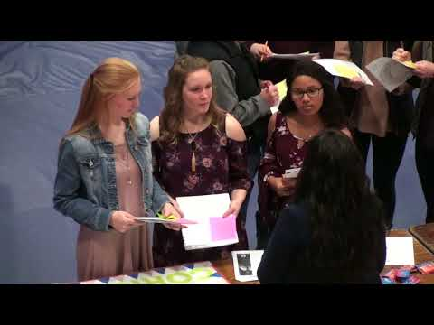 Students Learn About Local Employers at Career Expo