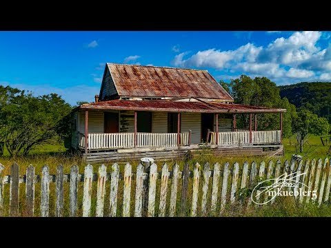 Abandoned: Early settlers cottage Australia with beautiful views