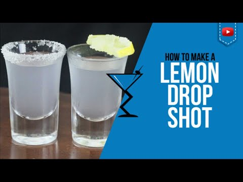 Lemon Drop Shot - How to make a Lemon Drop Shot Recipe by Drink Lab (Popular)