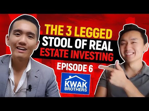 Ep 6 - The 3 Legged Stool of Real Estate Investing (Podcast)