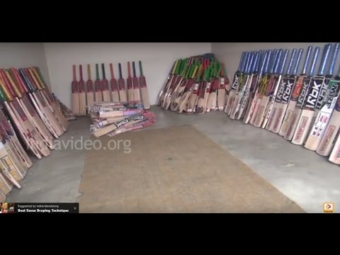 Want to buy a cricket bat, then come to Kashmir