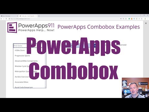 PoweApps Combobox - Search, Filter, Default values, and more