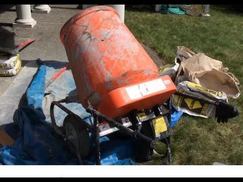 Kushlan Concrete Mixer Tips And Making Aggregate Surface