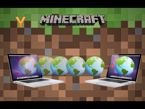 How to transfer Minecraft Worlds between Macs