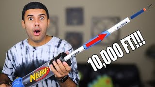 STRONGEST NERF GUN OF ALL TIME!! MOST DANGEROUS EDITION (SHOOTS 10,000 FEET) *INSANELY DANGEROUS*