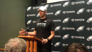 Nick Foles on playing for Pederson, replacing Wentz