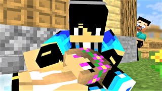 MONSTER SHOOL : HERO RESCUES A PRETTY GIRL SECTIONS(I) AND (V)- MINECRAFT ANIMATION