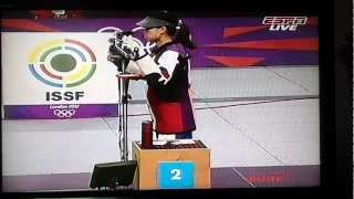 Yi Siling Of China Wins Xxx London Olympics 2012 1st Gold Medal Woman