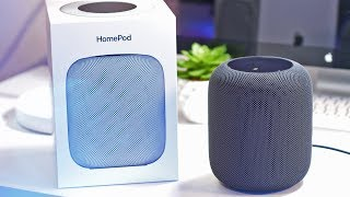 Apple HomePod Unboxing, Setup & First Impressions!