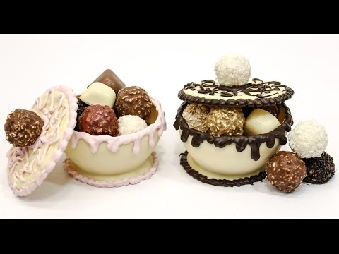 How To Make FERRERO ROCHER Bowls CHOCOLATE HACKS  by Cakes Step by Step