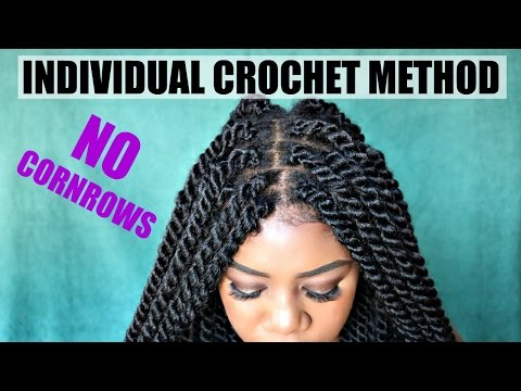 DIY Individual Crochet Havana Twists | NO Cornrows! No Tension! Lightweight! Fast! Under 2 Hrs