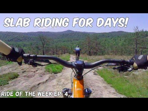 Rock Slab Mountain Biking! Big Rock and Cedar Rock, DuPont | ROTW Ep. 4