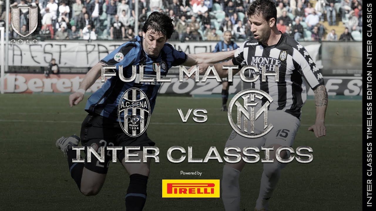 SIENA vs INTER   2009/10 SERIE A - MATCHDAY 38   INTER CLASSICS TIMELESS EDITION ⚫🔵🏆🏆🏆