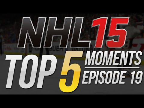 NHL 15   Top 5 Moments of the Week Episode 19
