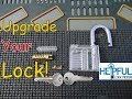 [112] DIY How To Disassemble and Upgrade Your Clear Acrylic Padlock [Great Learning Tool]
