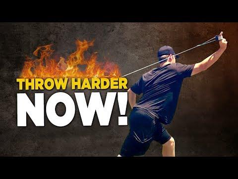 6 Rotator Cuff Exercises To Throw Harder - Baseball Throwing Drills!
