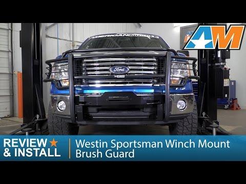 2009-2014 F-150 Westin Sportsman Winch Mount Brush Guard Review & Install