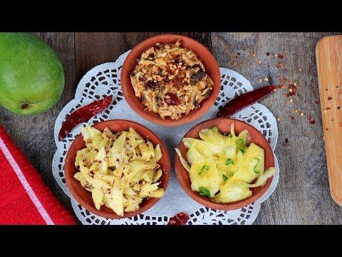 আম ভর্তা ৩টি ভিন্ন স্বাদে | Kacha Amm Bhorta | Kacha Amer Vorta Bangla