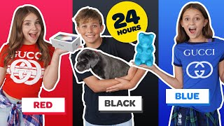 BUYING Anything In ONE COLOR For 24 Hours CHALLENGE! **NEW iPhone 11**📱🥰 | Piper Rockelle