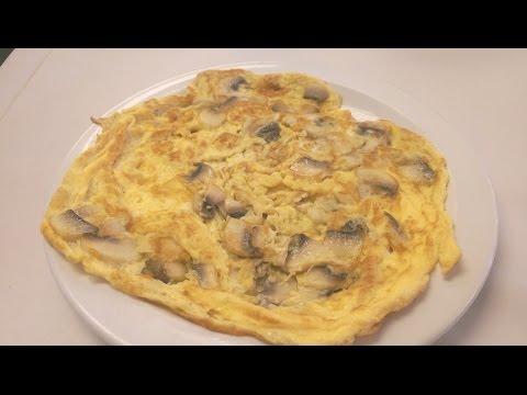 How to make Mushroom omelette