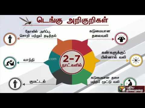 டெங்கு காய்ச்சலின் அறிகுறிகள்: விளக்கம் | Dengue Fever Symptoms