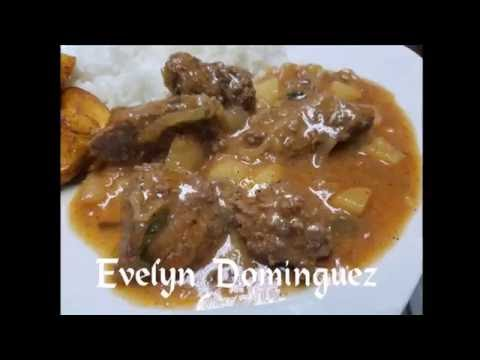 Cube Steak Stew (Bistec) Recipe