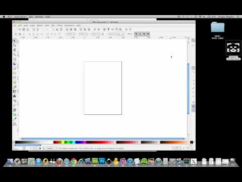 (12/36) Using Inkscape to Create SVG Files