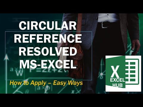 HOW TO FIND CIRCULAR REFERENCES & CORRECT THEM IN EXCEL 2016.webm