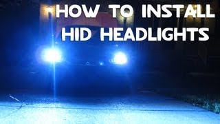How To Install Hid Headlights Conversion Kit Diy