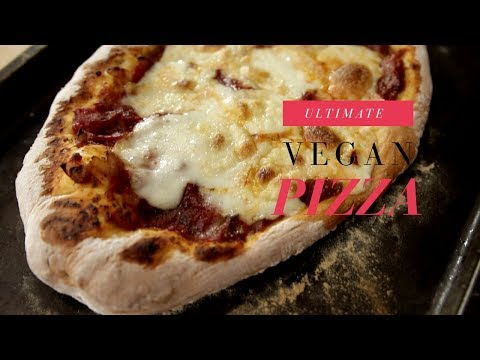 Ultimate Vegan Pizza [From Scratch]  | The Buddhist Chef