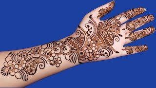 Full Hand Mehndi Designs For Hands   Simple Arabic Mehndi Design For Hands #92 @ jaipurthepinkcity