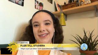 Fler vill studera - de här linjerna är populärast  - Nyheterna (TV4)