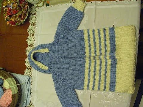 DIY* Baby Schlafsack Stricken*baby sleeping bag knit*TEIL 4**Tutorial Handarbeit