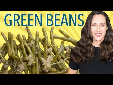 Skillet-Braised Green Beans Recipe Demo - Vegan - How to Cook the Best Green Beans