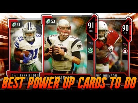 BEST POWER UP UPGRADE SETS TO DO IN MADDEN 18! UPGRADE CARDS ALL YEAR! | MADDEN 18 ULTIMATE TEAM